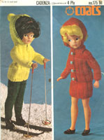 barbie clothes knitting patterns