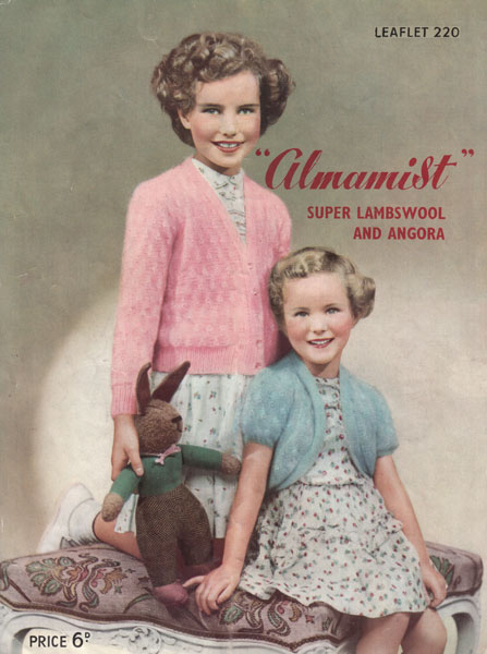 Angora Knitting Patterns : Vintage knitted childrens clothes patterns available from The Vintage Knittin...