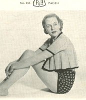 vintage swing jacket knitting pattern