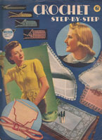 vintage 1930s crochet book for ladies fashion and bags