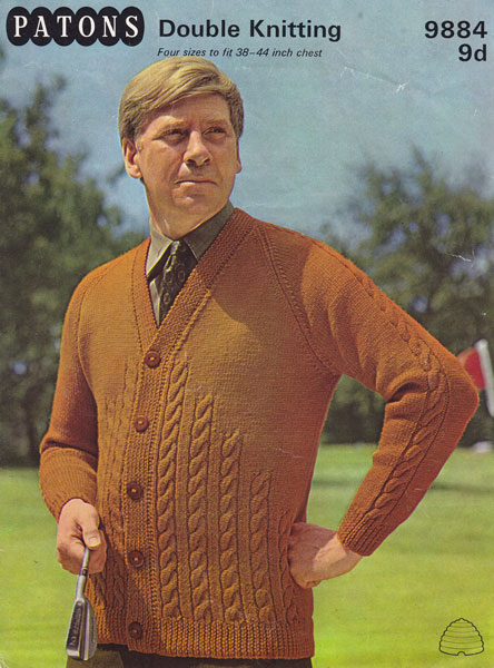 Vintage Mens Knitting Patterns Available From The Vintage