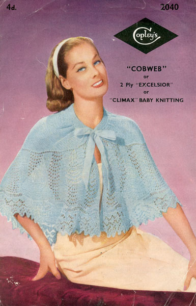 bed jacket knitting pattern