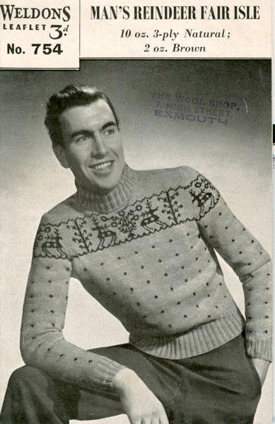 Christmas Jumper Knitting Patterns For Men : Christmas knitting patterns from The Vintage Knitting Lady