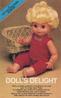 vintage doll set knitting pattern 1970s 13inches