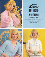 vintage ladies crochet pattern listern2105