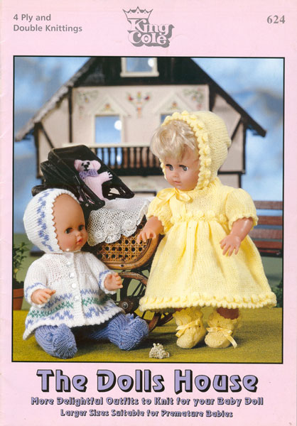 Modern Knitting Pattern Books : Modern knitted dolls clothes patterns available from The Vintage Knitting Lady