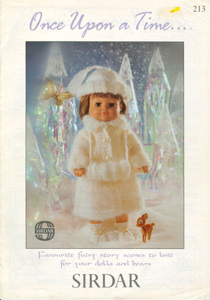 Sirdar Knitting Patterns For Dolls Clothes : Modern knitted dolls clothes patterns available from The ...