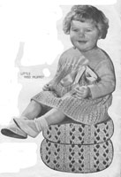 vintage baby dress knitting pattern from 1936