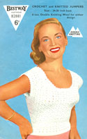 vintage crochet ladies summer top