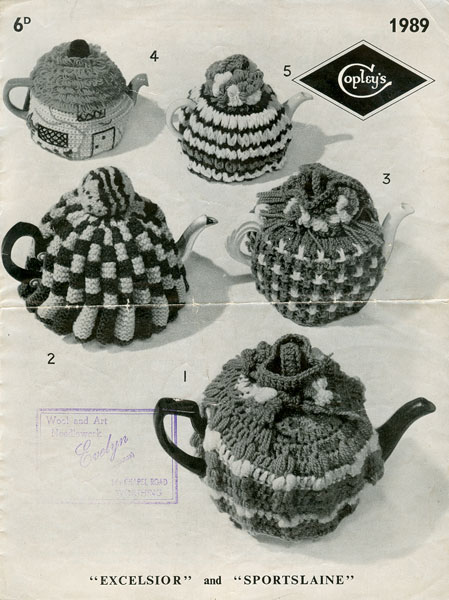 Knitting Vintage Things : Vintage tea cosies and egg knitting patterns from