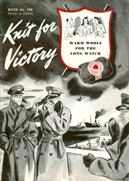 Vintage Knitted World War 2 Knitting Patterns Available