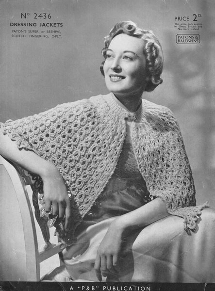 Easy Knit Bed Jacket Pattern Free Free Bed Jacket And Shrug Pattern