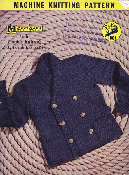 Free Knitting Patterns For Hooded Scarves : Vintage Machine Knitting Patterns from The Vintage Knitting Lady