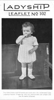 vintage baby knitting pattern baby dress 1920s