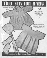 vintage baby new idea knitting pattern baby pattern from australia 1940s