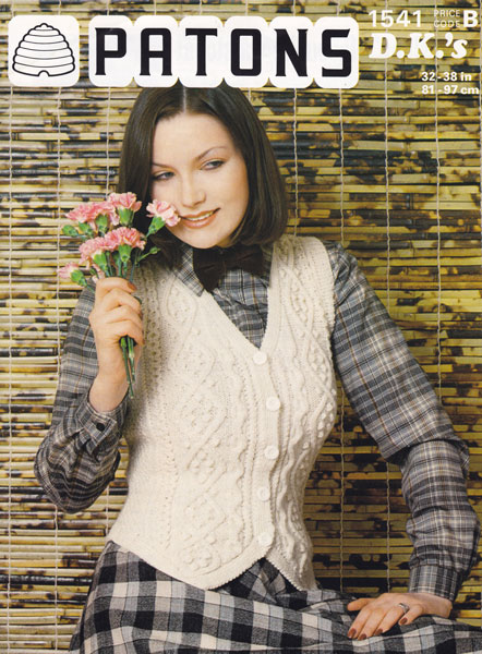 Knitting Pattern For Ladies Waistcoat Choice Image Knitting