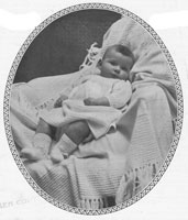 layette for baby from 1920s