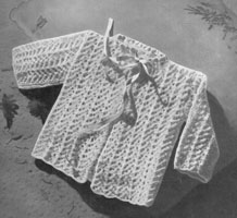 matinee jacket knitting pattern 1940s