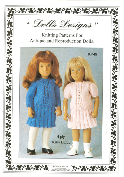 Modern Knitted Dolls Clothes Patterns Available From The
