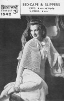 bestw 1542 ladies bestway knitting pattern 1940s