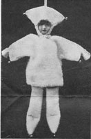 vintage knitting pattern Marry doll