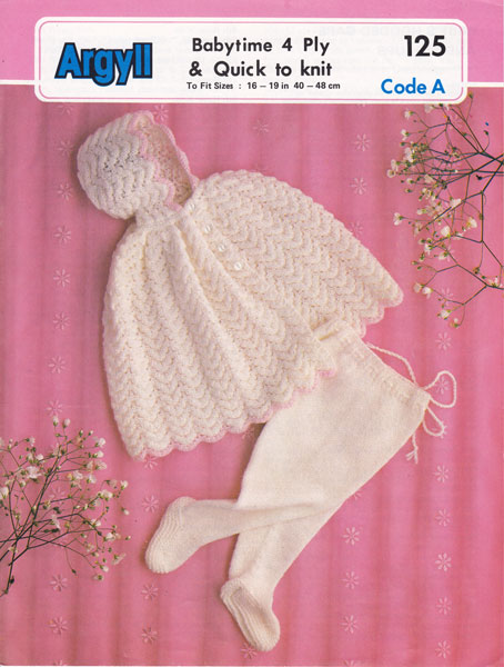 Vintage Baby Knit 80