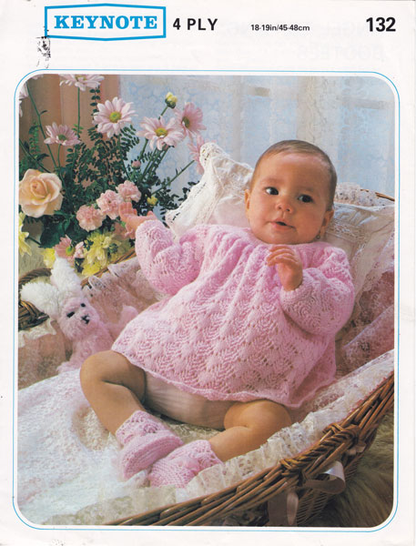Vintage Knitting Patterns For Babies : Vintage Baby Dresses Knitting Patterns from The Vintage ...