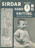 vintage sirdar baby knitting patterns