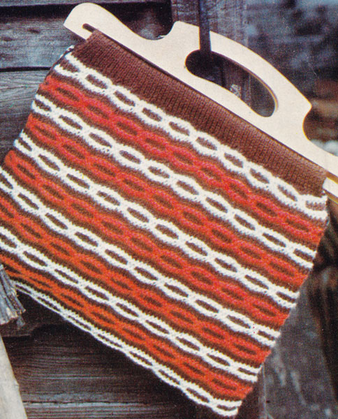 Vintage Ladies Knitted Bag knitting patterns available from The Vintage Knitt...