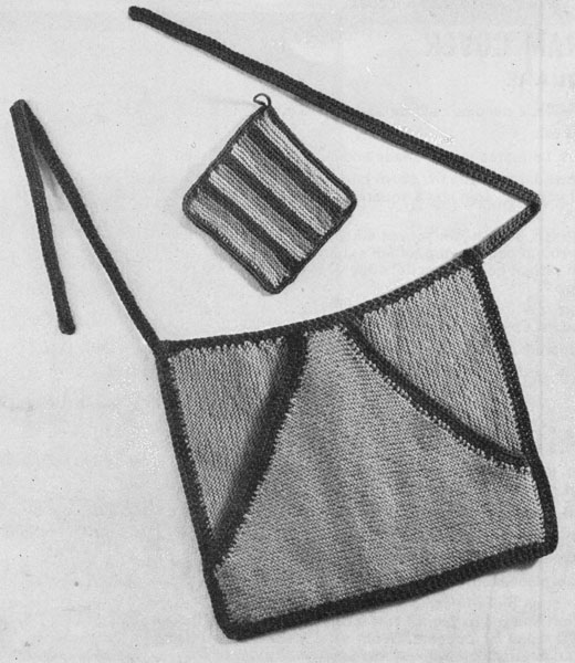 Knitting Pattern For A Peg Bag : Vintage Knitted Weird and Wonderful knitting patterns ...
