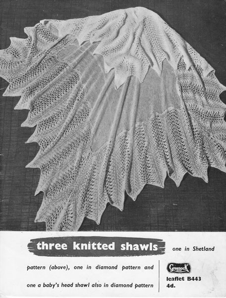 Knitted Baby Shawl Patterns : Hand Knitted Shawls, Covers and blankets knitting patterns available from The...