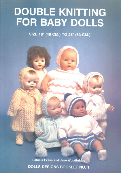 Modern knitting patterns dolls clothes page one