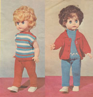 vintage dolls pramset knitting patterns