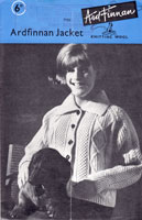 ardfinnon jacket knitting pattern for ladies 1950s