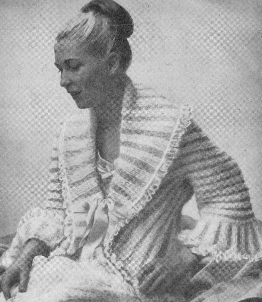 Vintage Bed Jacket and Bedwear Knitting Patterns from The Vintage Knitting Lady