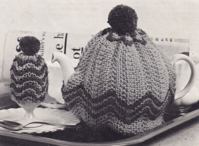 vintage tea cosy knitting pattern