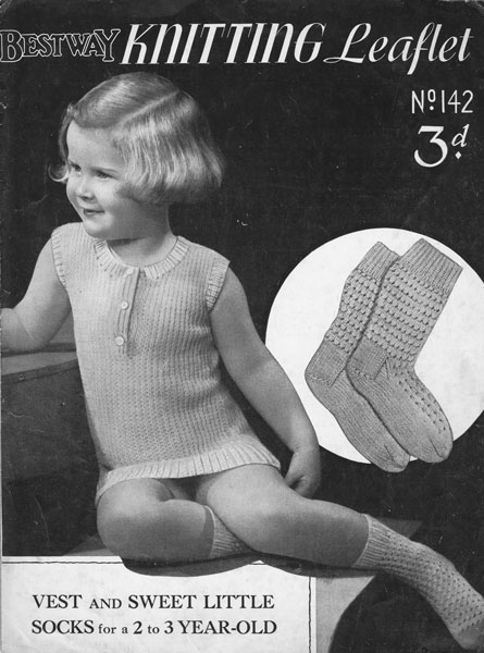 Childrens Knitted Underwear Patterns Available From The