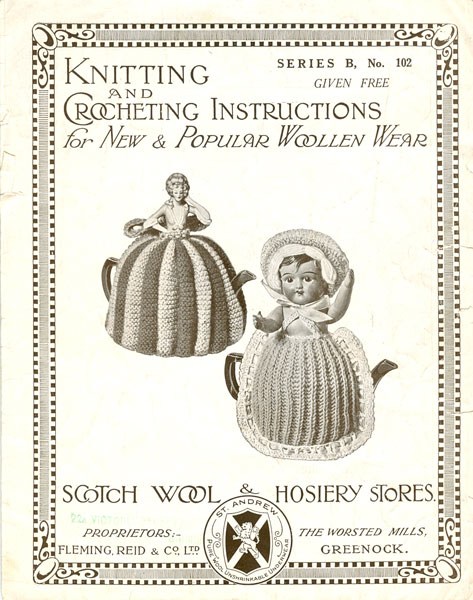 Vintage Tea Cosies and Egg Cosies Knitting Patterns from The Vintage Knitting...