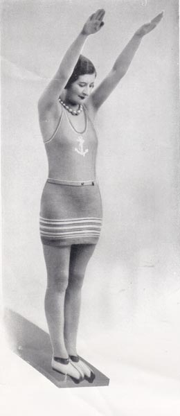 Ladies Swimwear Knitting Patterns Available From The Vintage