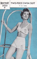 vintage ldies swimsuit