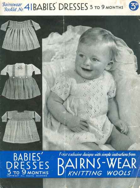 6cc81dfc4 Vintage Baby Clothes Knitting Patterns from The Vintage Knitting Lady