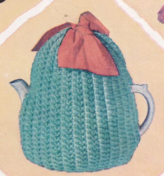 Vintage Tea Cosy Knitting Patterns : vintage knitting pattern tea cosy