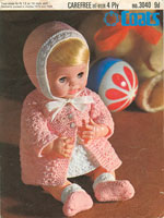 vintage dolls crochet patterns