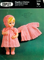 vintage doll knitting patterns