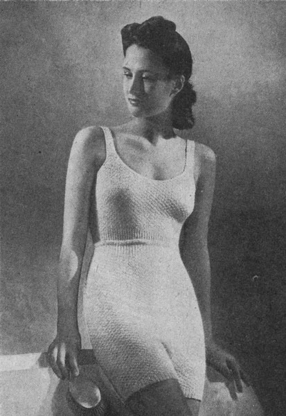 a554852153 vintage weldons ladies knitting pattern for vest pants knickers 1940s