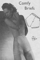 vintage ladies cami knickers 1940s knitting patterns