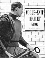 vintage roll neck navel sweater knitting pattern world war two