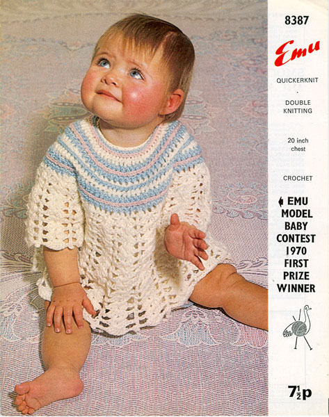 vintage crochet baby pattern