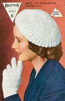Vintage Knitting Pattern Beret : vintage beret knitting pattern
