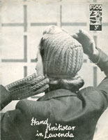 vintage knitting pattern for hats